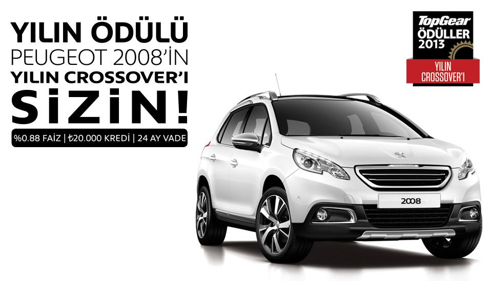 Peugeot 2008 Kampanyası