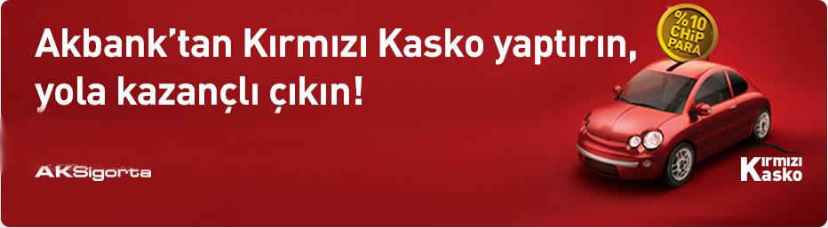 Akbank Kırmızı Kasko Sigortası