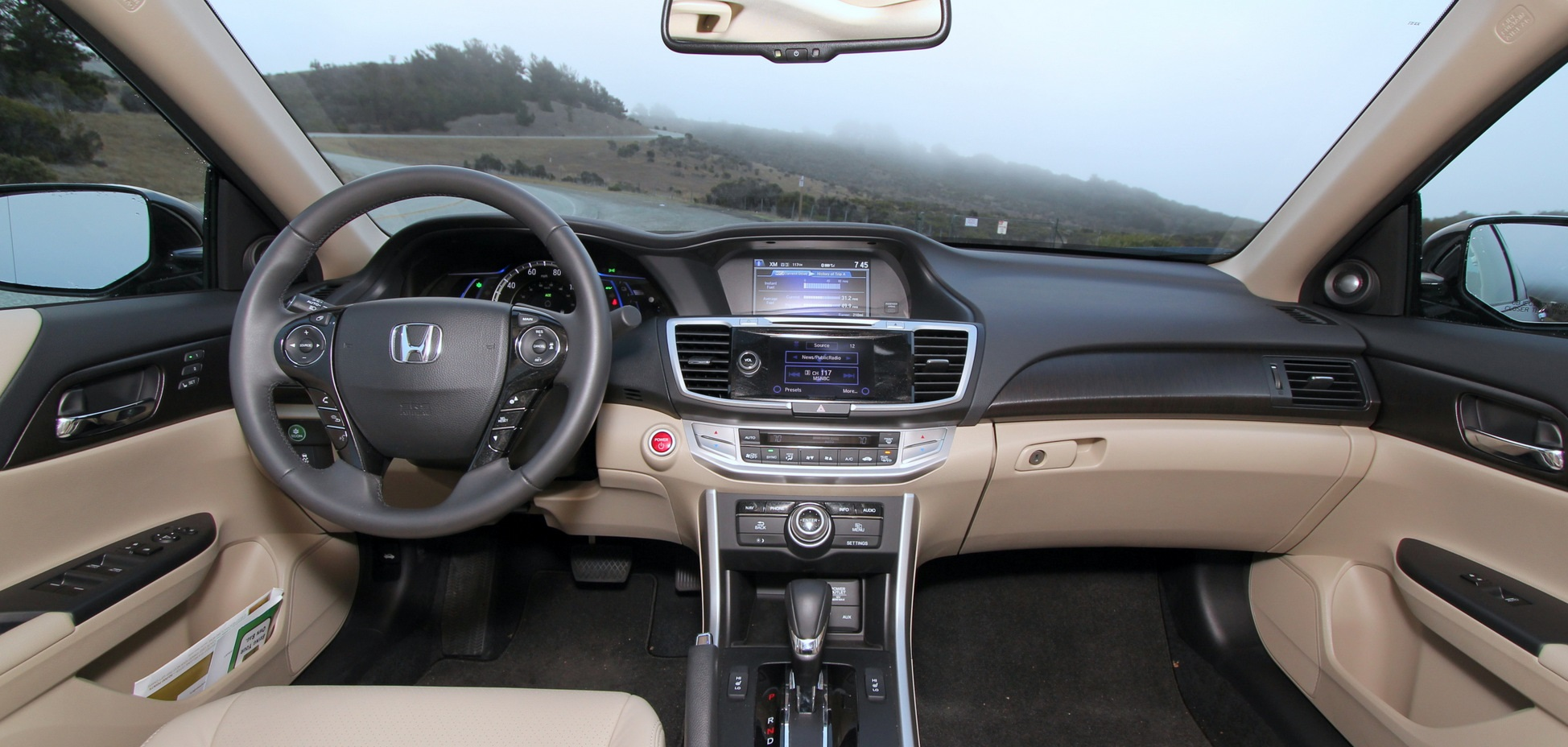 Honda Accord İç Tasarım