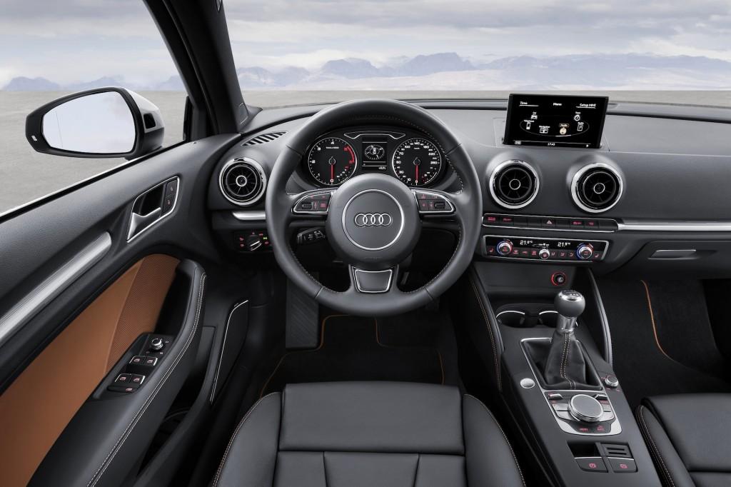 2015 Audi A3 İç Görünüm