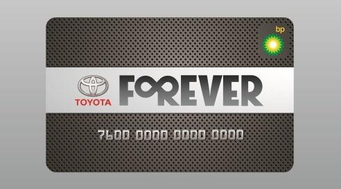 Bedava Akaryakıt Toyota Forever Card'ta