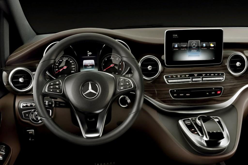 Mercedes Vito 2015 4x4 İç Görünüm