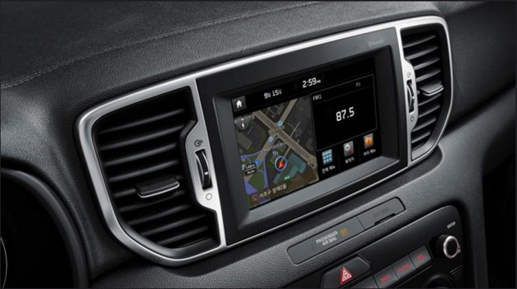 Dokunmatik navigasyon ekran