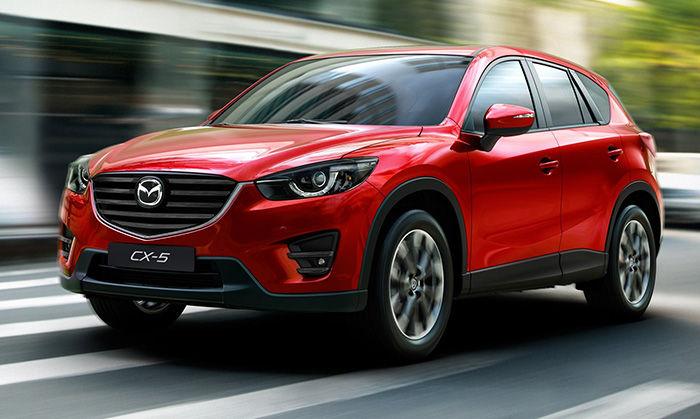 Mazda CX-5 2015 Renk Seçenekleri