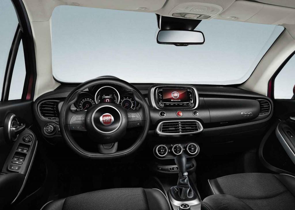2016 Fiat 500x İç Tasarım
