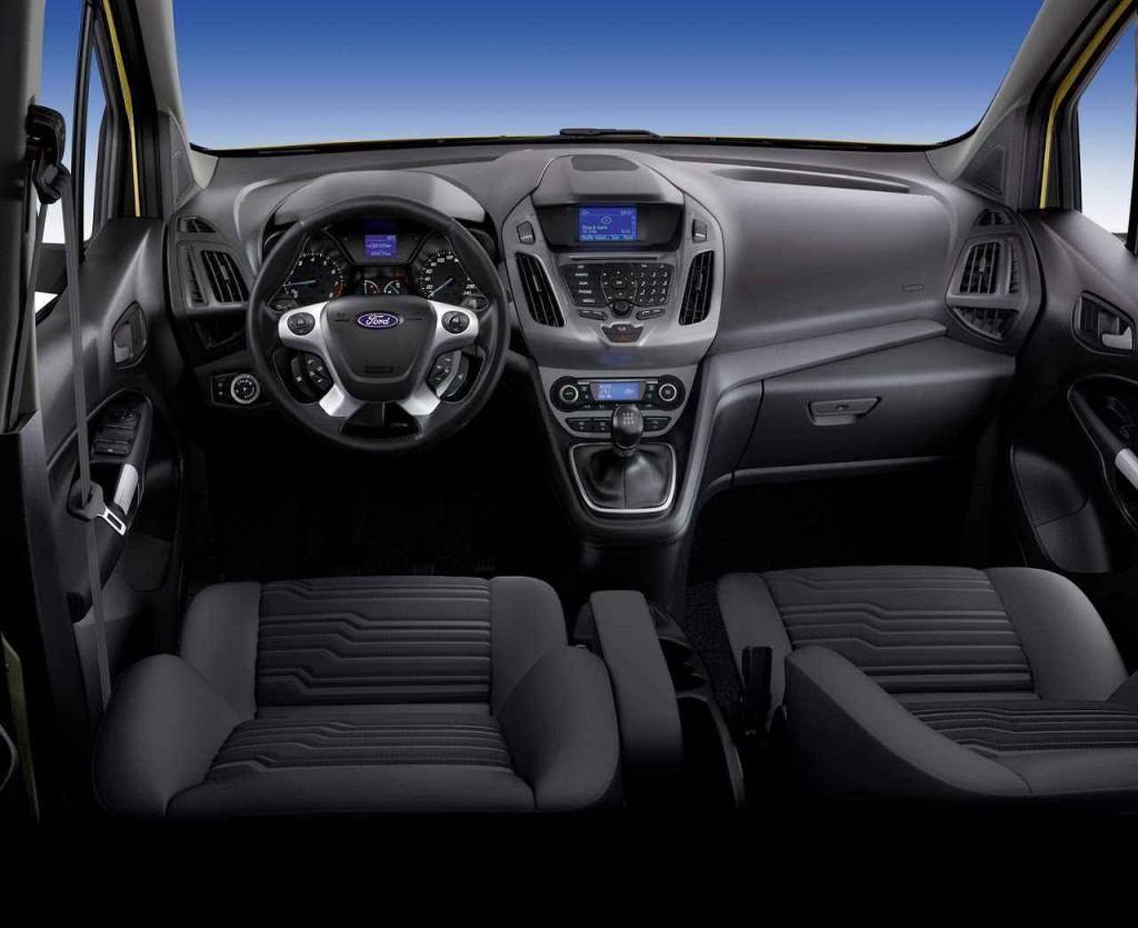 2015 Ford Connect İç Tasarım