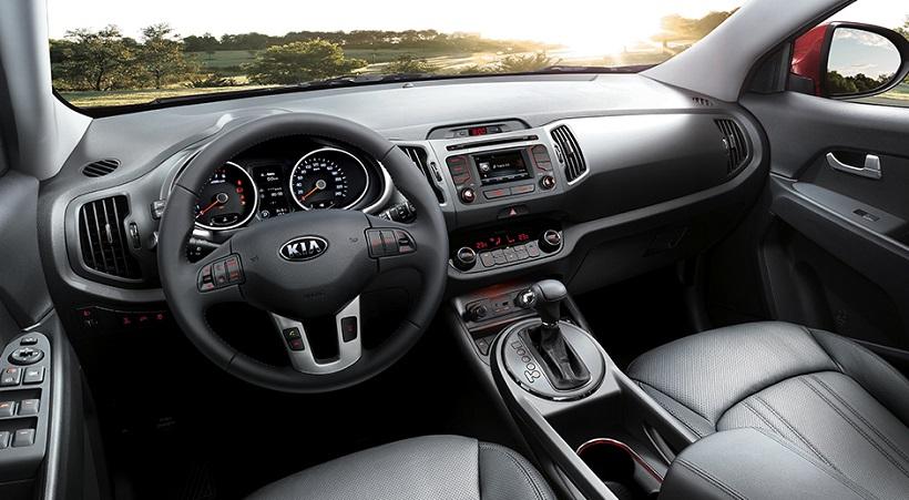 2015 Model Kia Sportage İç Görünüm
