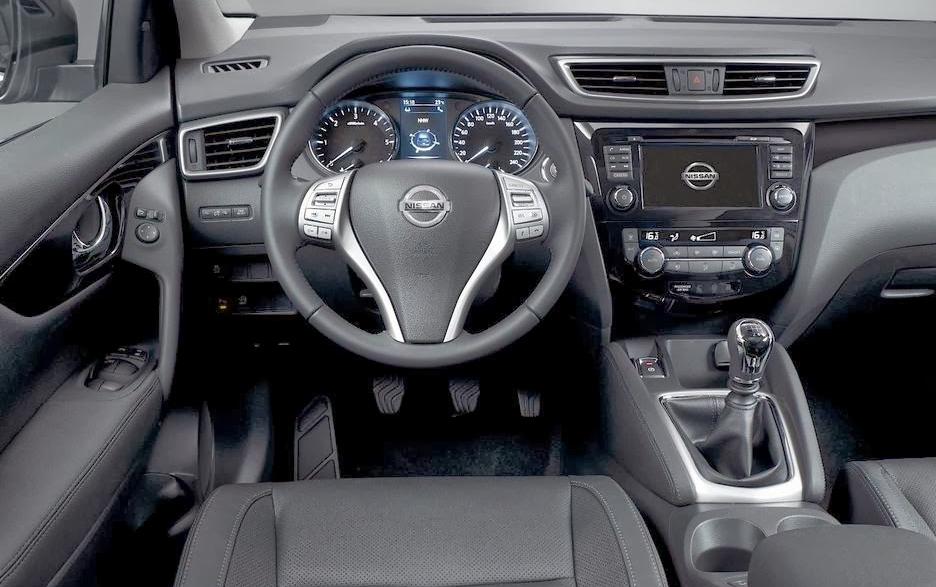 2015 Nissan Qashqai İç Görünüm