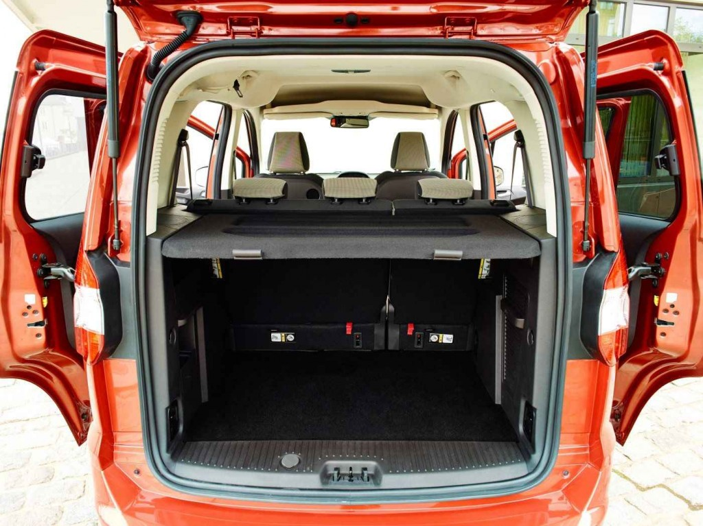 Ford Tourneo Courier Bagaj Hacmi