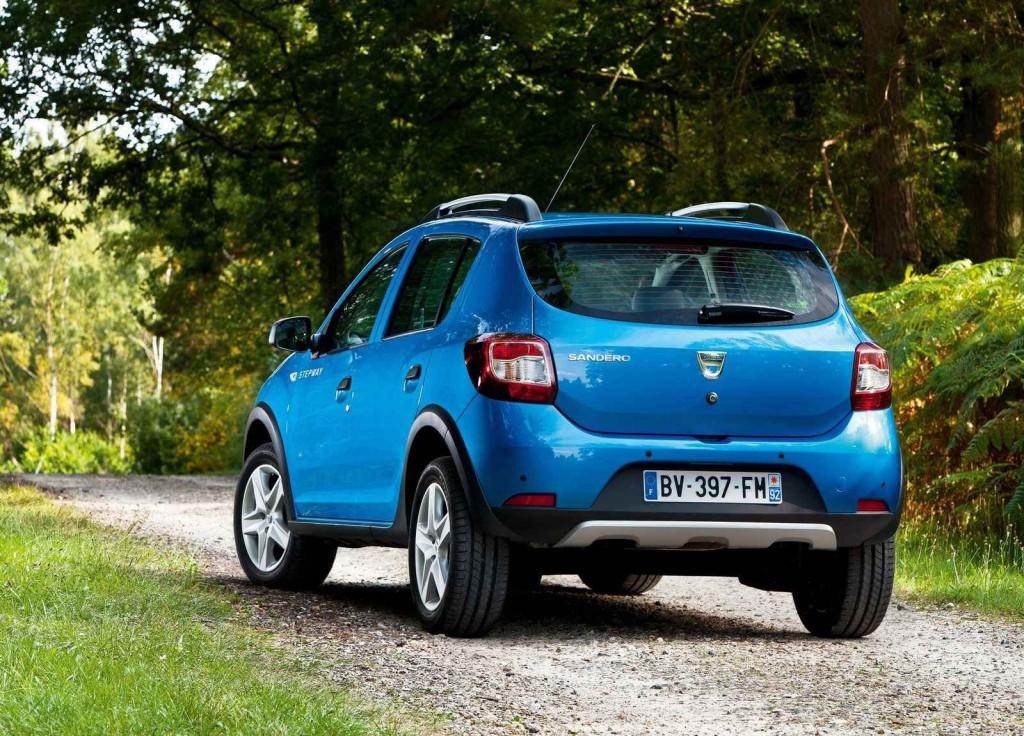 Turbo Motor Seçenekli Dacia Sandero Stepway