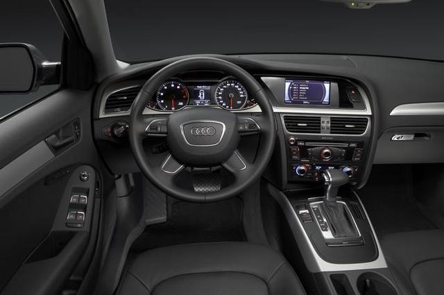 2015 Audi A4 İç Tasarım