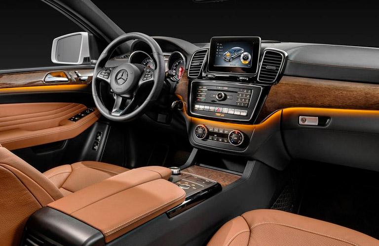 2015 Mercedes GLE Coupe İç Tasarım
