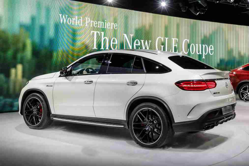 2015 Mercedes GLE Coupe Renk Seçenekleri