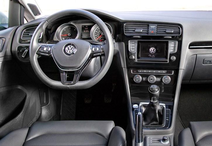 2015 Model Volkswagen Golf İç Tasarım