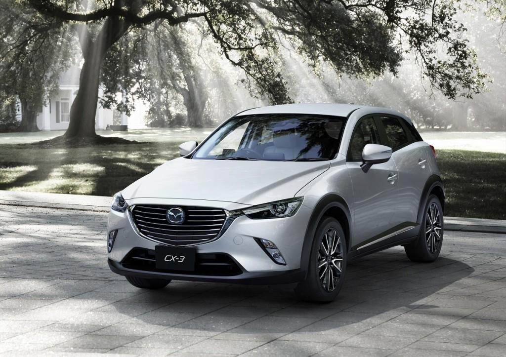 Crossover Segmenti 2015 Mazda CX-3