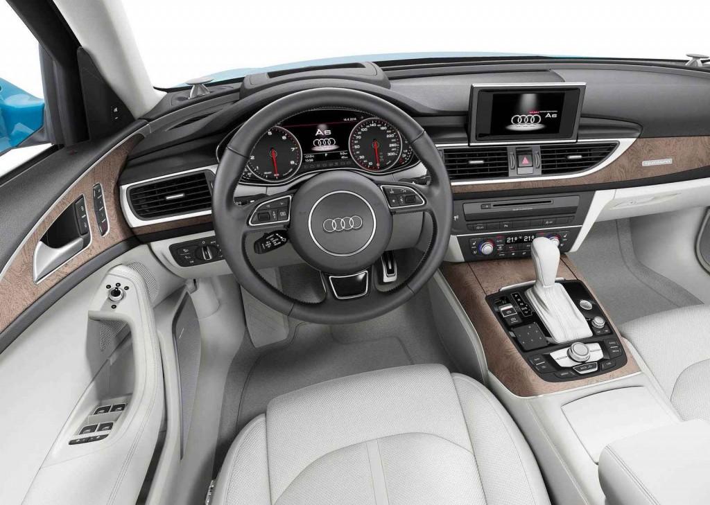 2015 Audi A6 İç Tasarım