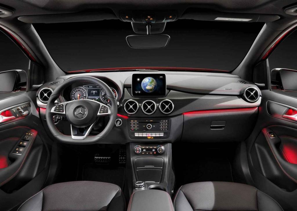 2015 Mercedes B 180 İç Tasarım
