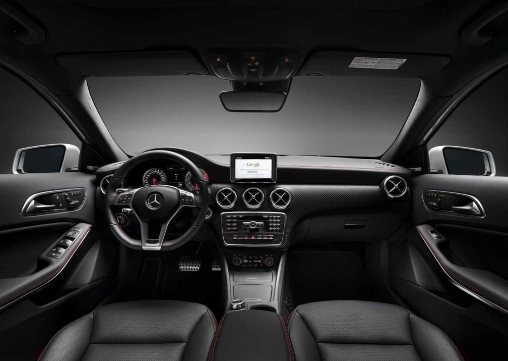 2015 Model Mercedes  A 180 AMG İç Tasarım