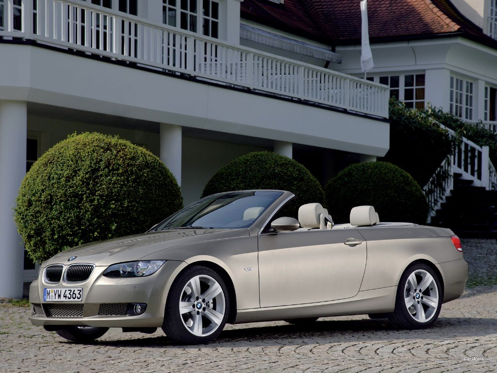 BMW 3.35i Cabrio Coupe