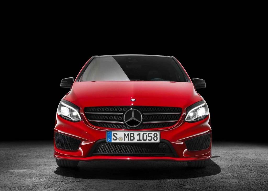 MPV Segmenti Mercedes B 180