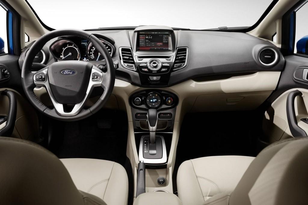 2015 Ford Fiesta İç Tasarım