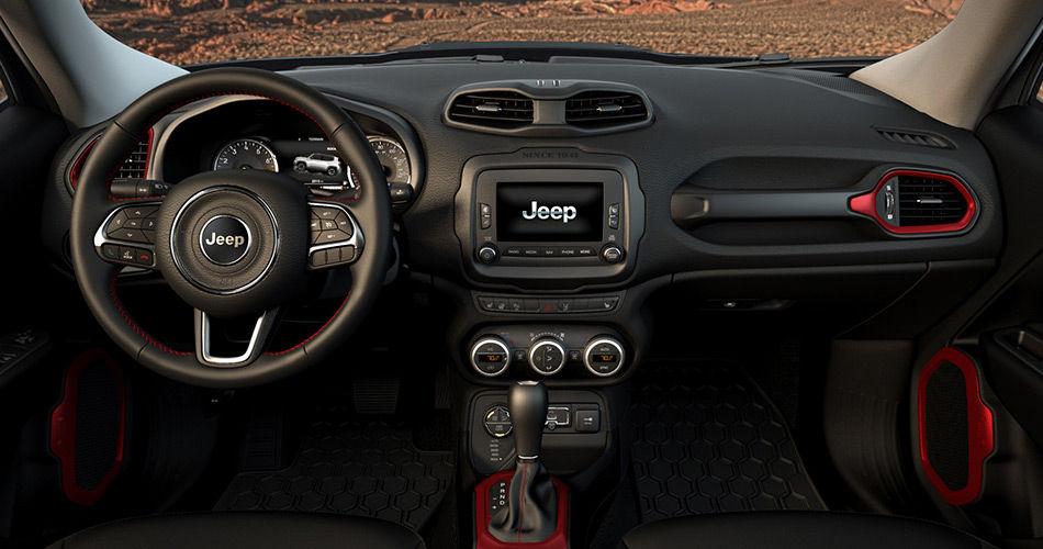 2015 Jeep Renegade İç Tasarım