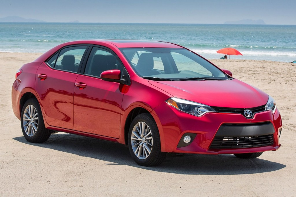 2015 Model Toyota Corolla