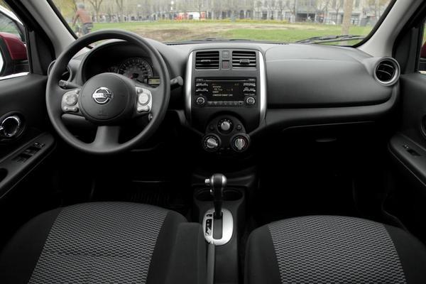 2015 Nissan Micra İç Tasarım