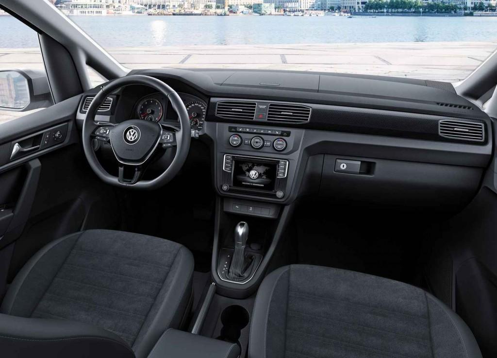 2015 Volkswagen Caddy İç Tasarım