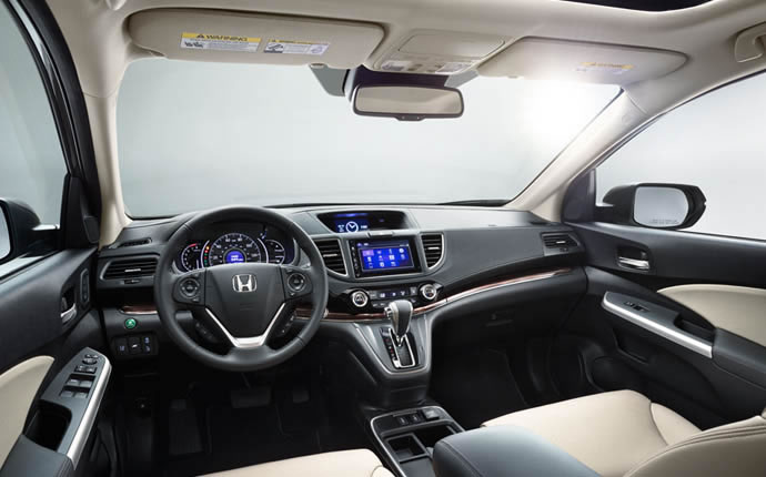 2015 Honda CR-V İç Tasarım