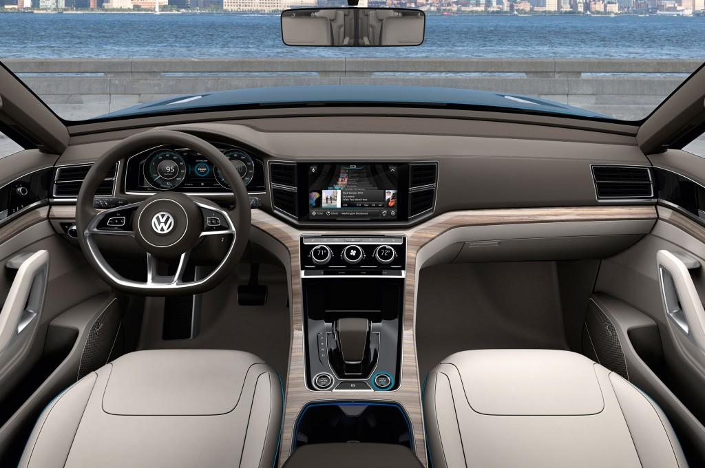 2015 Volkswagen Passat İç Tasarım