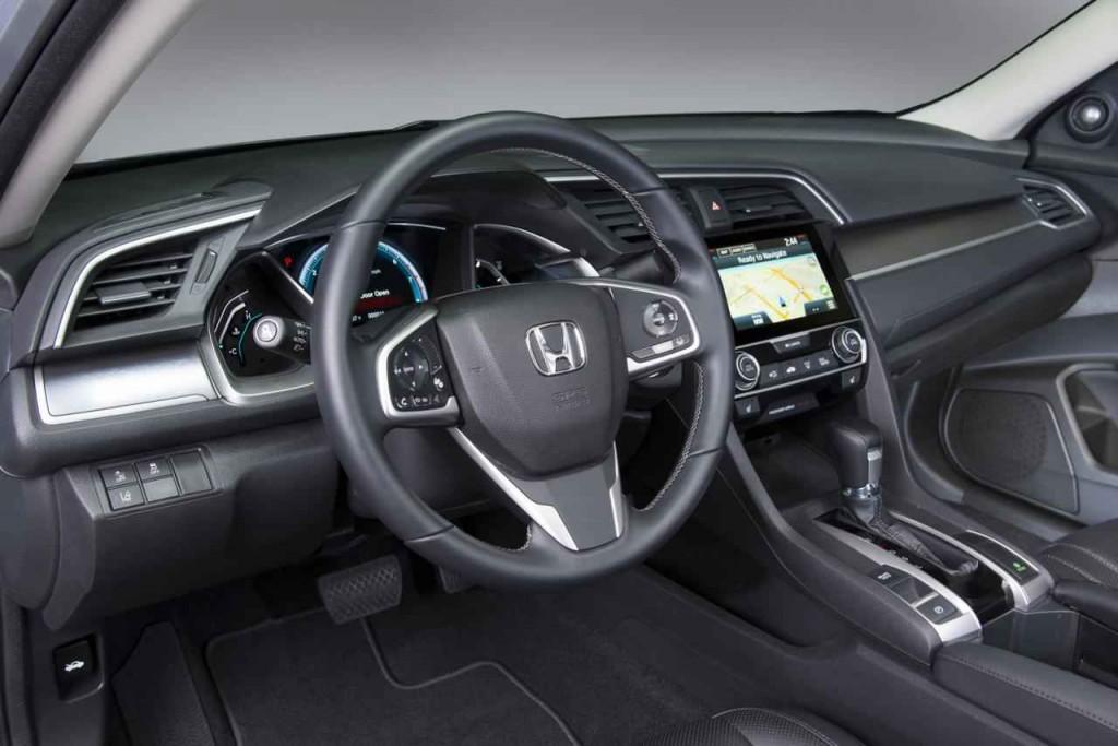 2016 Honda Civic İç Tasarım