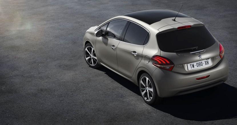 Yenilenen 2015 Peugeot 208