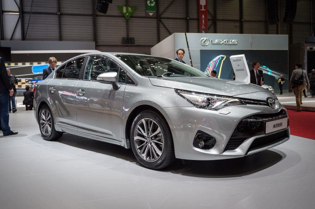 2015 Model Toyota Avensis