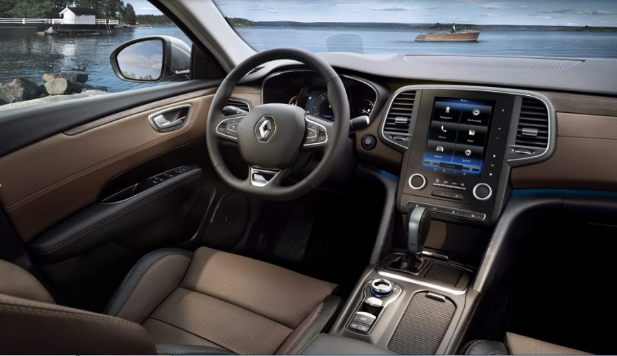 Renault Talisman iç tasarım