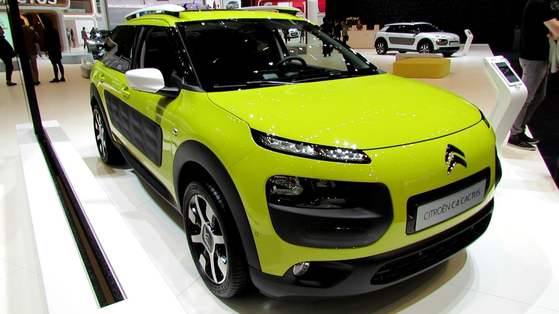 2015 Citroen C4 Cactus İç Tasarım - Uygun Taşıt