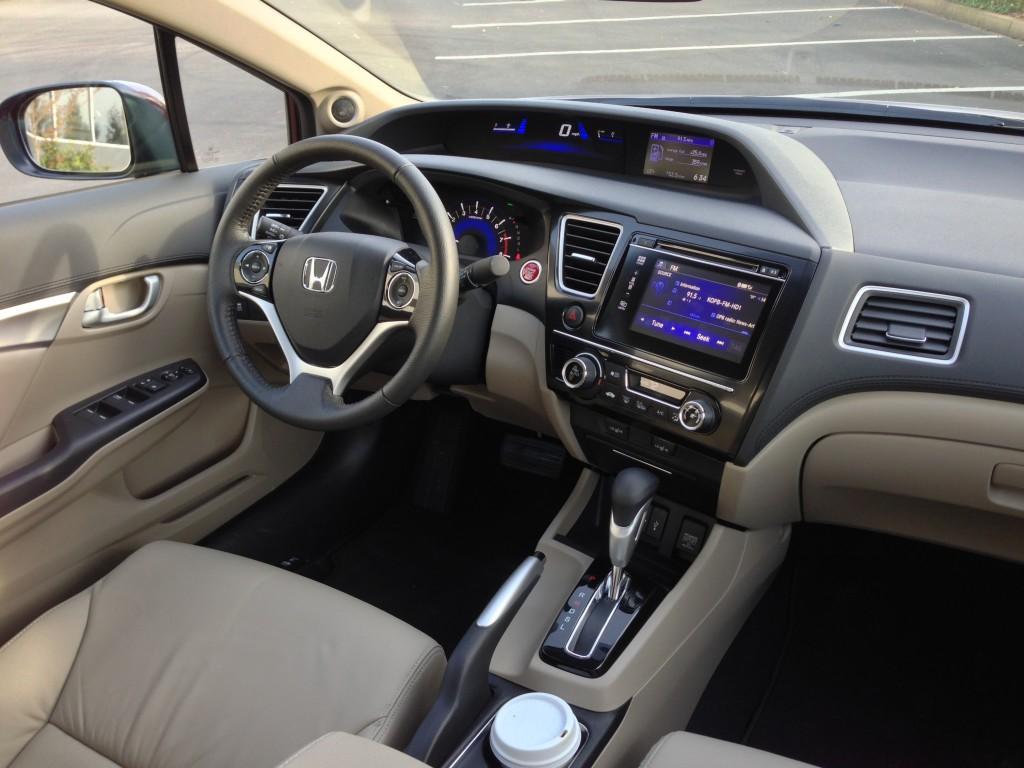 2015 Honda Civic Sedan İç Tasarım