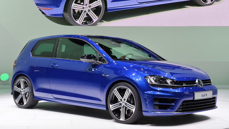 2015 Model Volkswagen Golf R