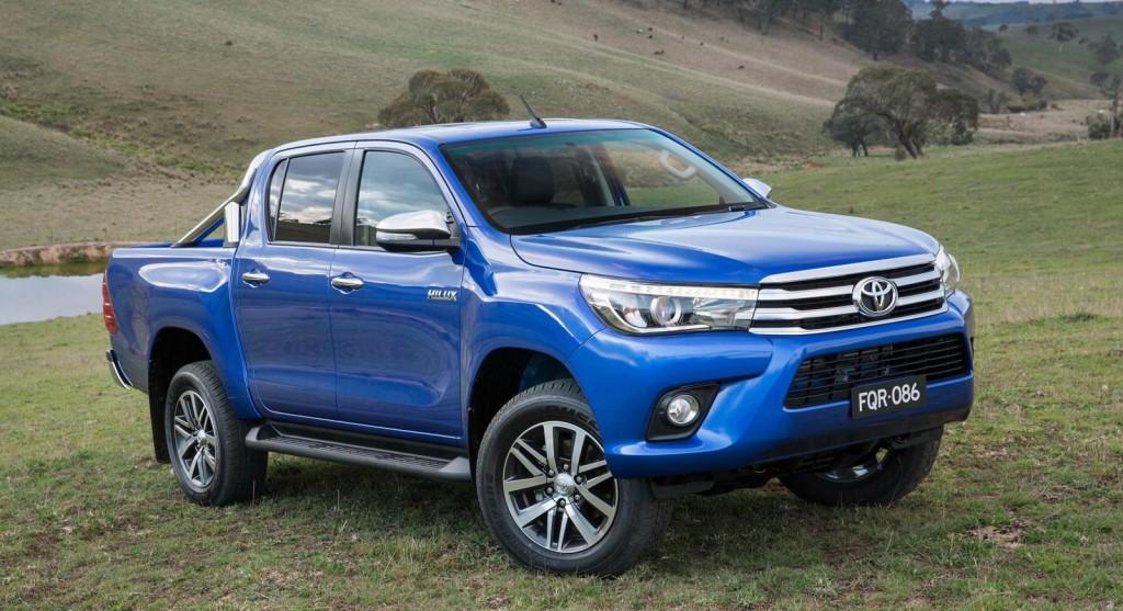 2016 Model Toyota Hilux