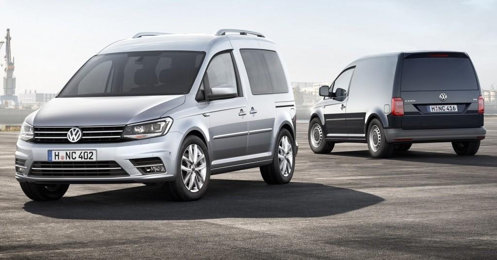 2016 Model Volkswagen Caddy