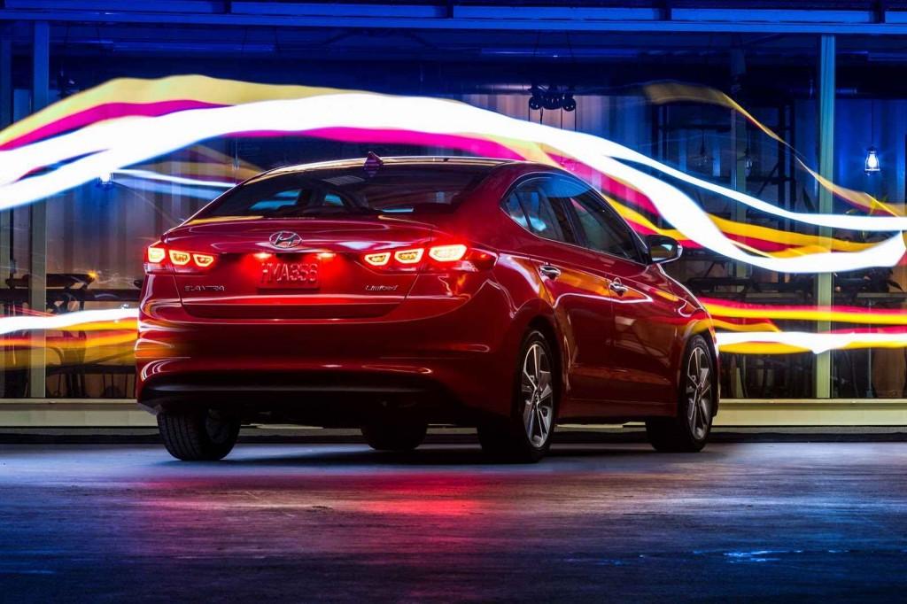 2017 Hyundai Elantra Renk Seçenekleri