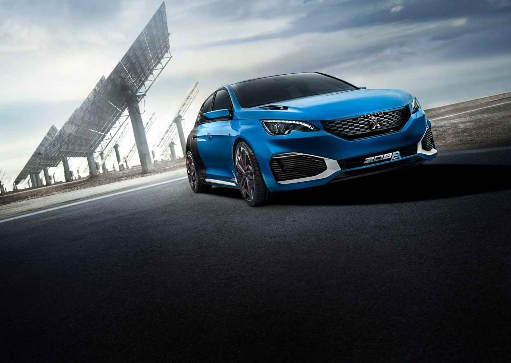 Peugeot Hybrid Otomobil