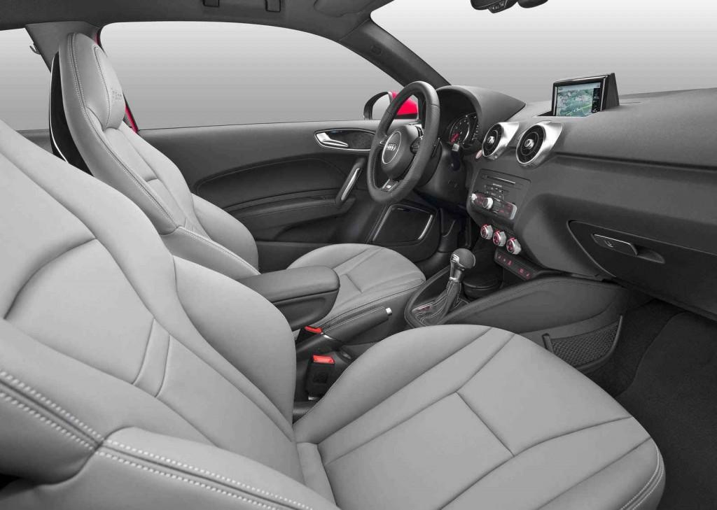 2015 Audi A1 İç Tasarım