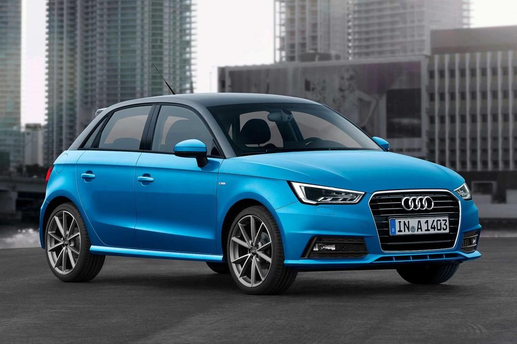 2015 Audi A1 Renk Seçenekleri