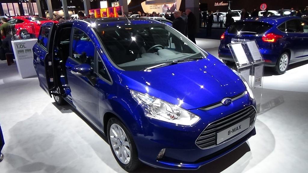 2015 Ford B-Max Renk Seçenekleri