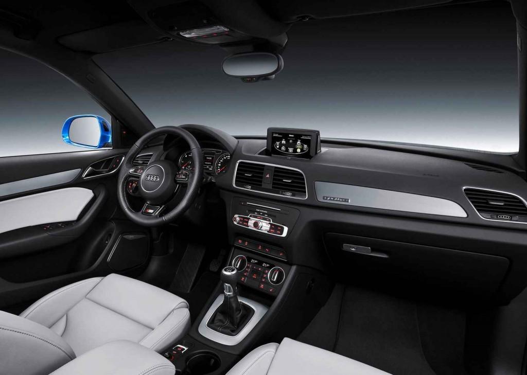 2016 Audi Q3 İç Tasarım