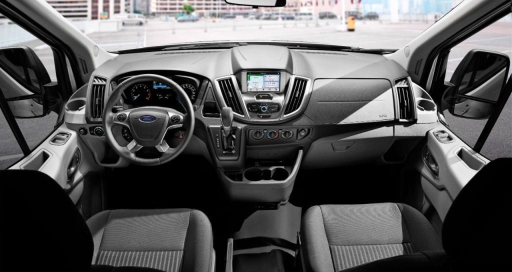 2016 Ford Transit Courier İç Tasarım