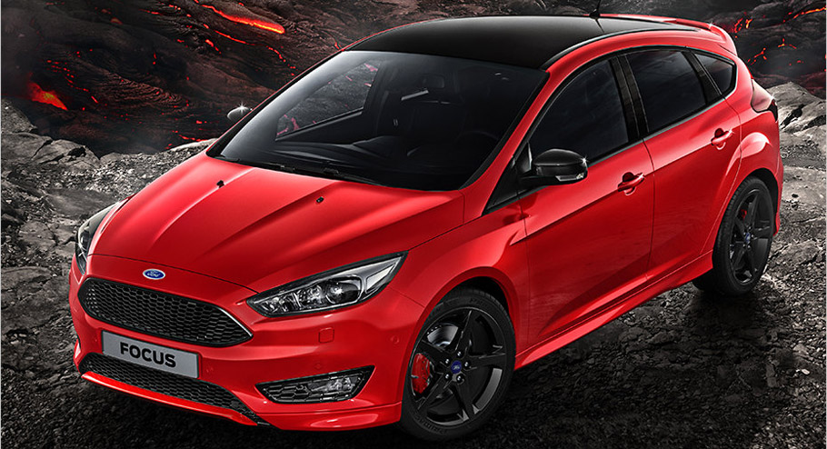 C Segmenti Ford Focus Red Edition