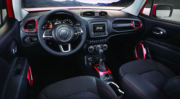 2016 Jeep Renegade İç Tasarımı