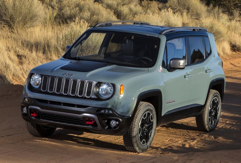 2016 Jeep Renegade Renk Seçenekleri